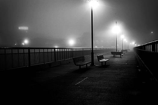 Bridge in fog by Tim Buisman