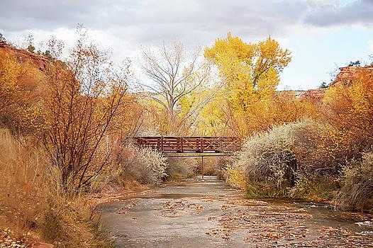 Bridge in Teasdale by Ramona Murdock