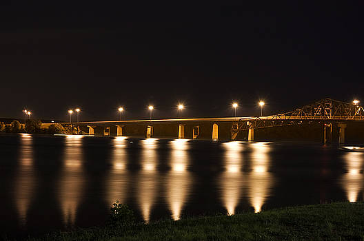 Bridge Lights by Steve Shockley