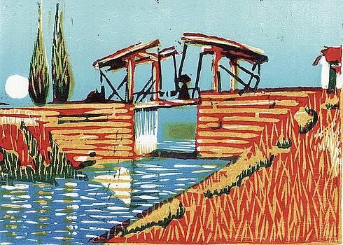 Bridge of Arles - Van Gogh by Daniel Ribeiro