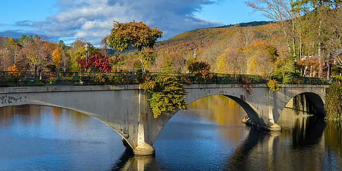 Bridge of Flowers in Shelburne Falls, Massachusetts by Matthew MacPherson