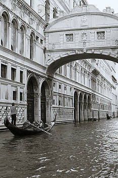 Richard Goodrich - Bridge of Sighs and Gondola, Venice, Italy