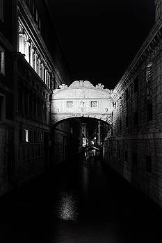 Bridge of Sighs at Night by Andrew Soundarajan