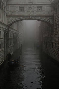 Bridge of Sighs, Venice, Italy by David Stanley
