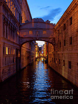 Bridge of Sighs, Venice, Italy by Louise Heusinkveld