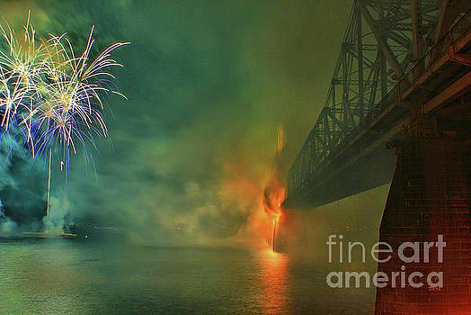 Bridge on Fire by Matthew Winn