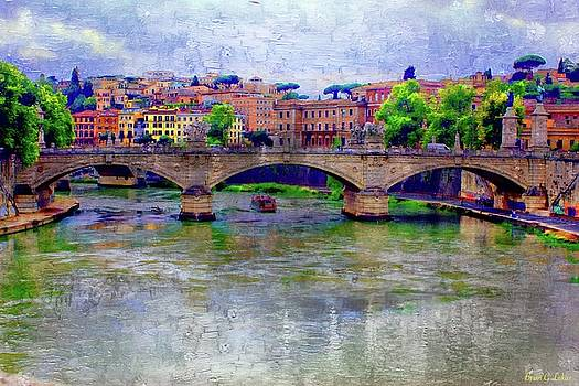 Bridge Over The Tiber River by Brian Lukas