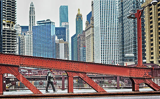 Bridge Over Chicago River by Steve Archbold
