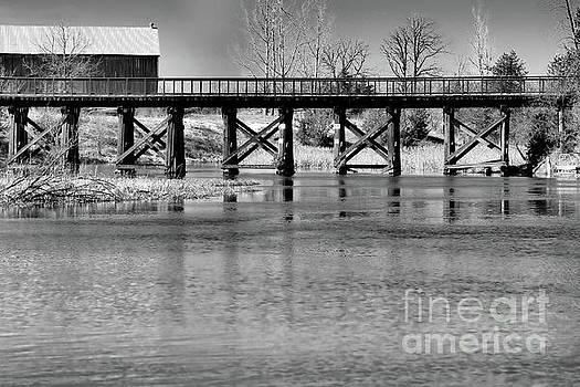 Bridge Over Spring Waters by Kristi Beers-Mason