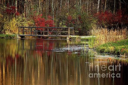 Bridge over still Waters by Don Kenworthy