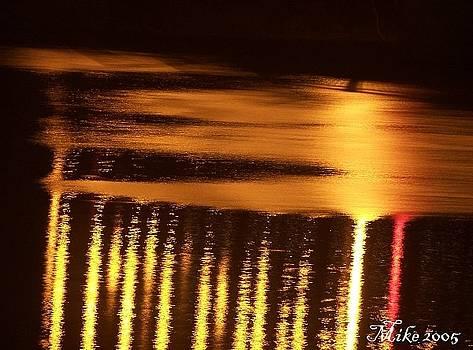 Bridge Reflections by Mike Hazelwood