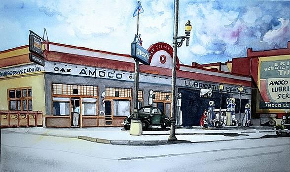 Bridge Station by Gerald Carpenter