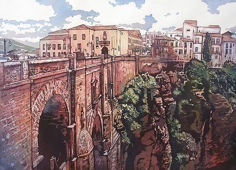 Bridge to Ronda by Leslie Redhead