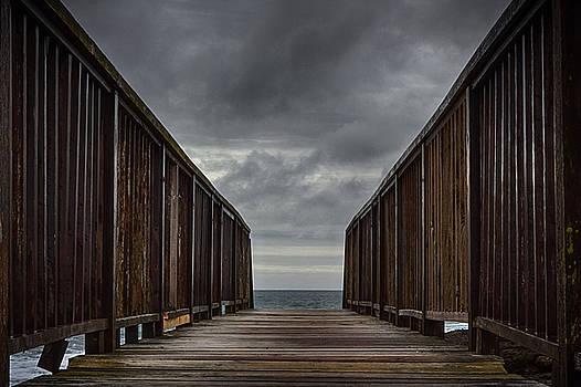 Bridge to the sea by Alex Leonard