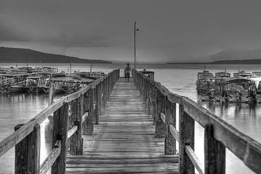 Bridge to the sea by Arabesque Saraswathi