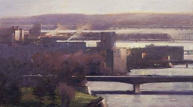 Bridges Evening by Chris Flodberg