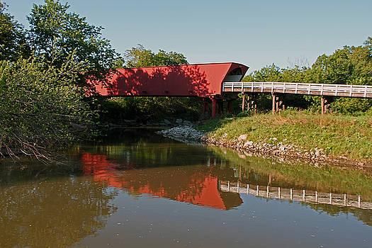 Bridges of Madison County 1 by Steve  Yezek