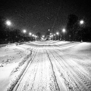 #bridgestreet #bridge #snow #snowy by Sharon Halteman