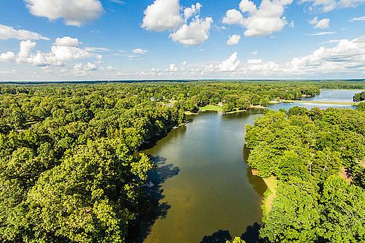 Bridgetown - Aerial 1 by Barry Jones