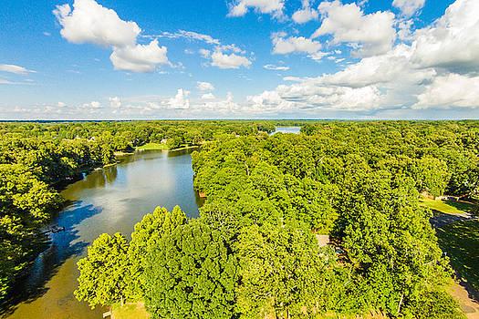 Bridgetown - Aerial 2 by Barry Jones