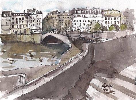 Bridging the Seine by Gaston McKenzie