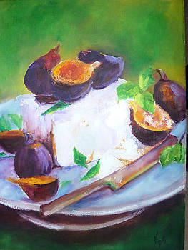 Brie with Figs  by Virgilla Lammons