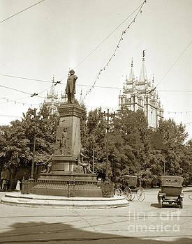 California Views Mr Pat Hathaway Archives - Brigham Young Monument  Salt Lake City, Utah Circa 1919