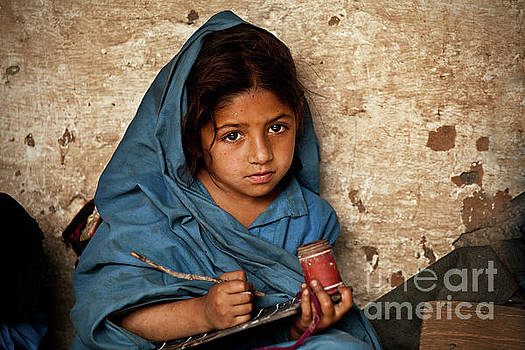 Bright Eyed Girl by Awais Yaqub