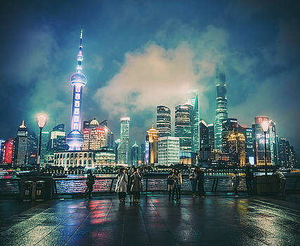 Bright Lights of Pudong by Nisah Cheatham