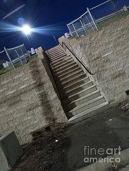 Bright Night Stairs.. by SimbiAni