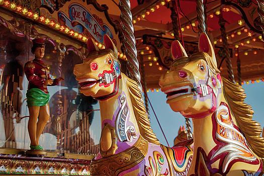 Brighton beach carousel by Gavin Bates