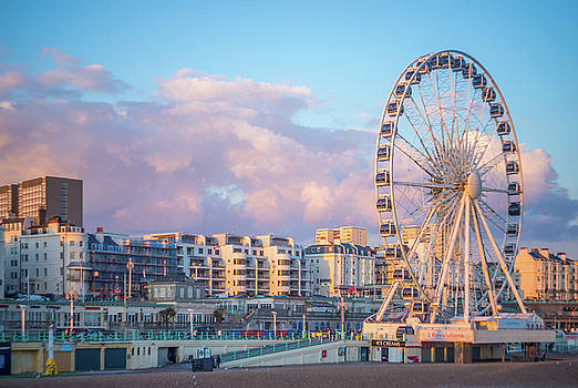 Brighton Ferris Wheel by Lindy Grasser