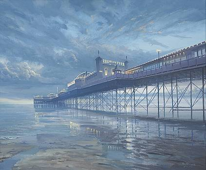Brighton Pier. by Richard Picton