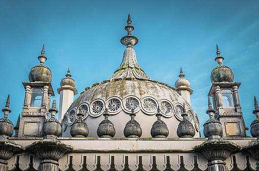 Brighton Royal Pavillion roof by Marius Comanescu