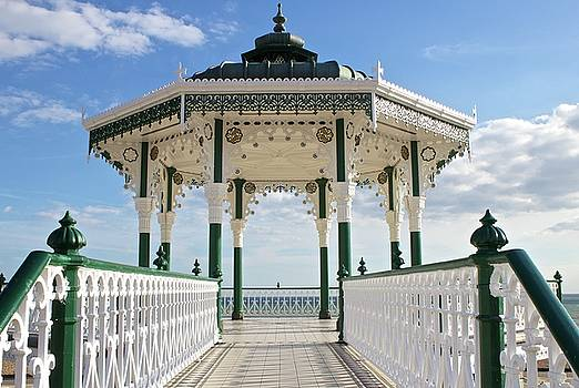 Venetia Featherstone-Witty - Brighton Seafront Gazebo