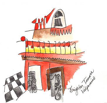 Anna Elkins - Brighton Terrace Valparaiso