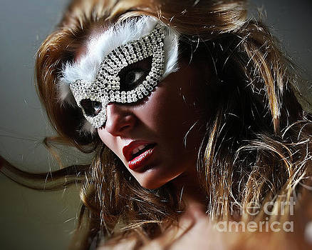 Dimitar Hristov - Brilliant II Venetian Eye Mask
