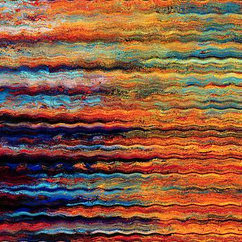 Brilliant Waves by Digital Art Cafe