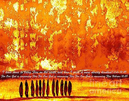 Bring Fire by Wonju Hulse