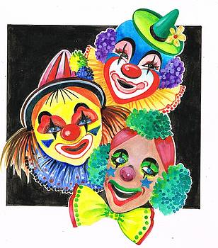 Bring on the clowns by Val Stokes