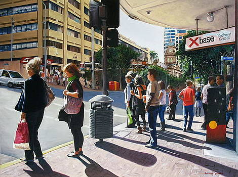 Brisbane Central by Amanda Russian