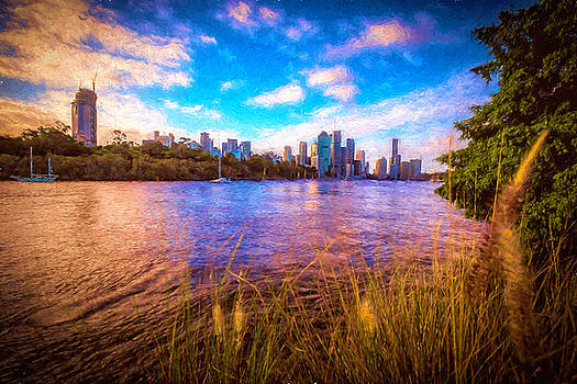 Brisbane Dusk Impression by Chris Hood