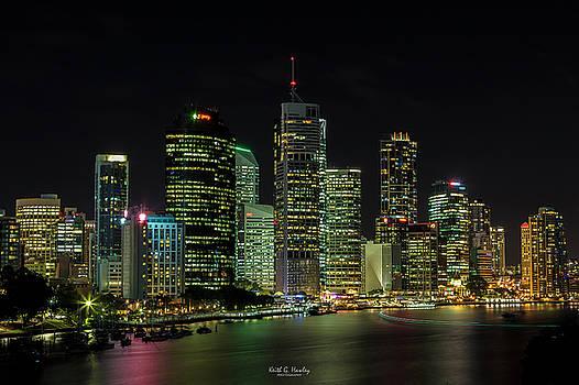 Brisbane Lights by Keith Hawley