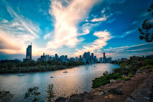 Brisbane River Siesta by Chris Hood