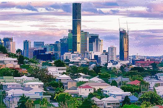 Brisbane Skyline by Chris Hood