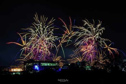 Brissie Fireworks by Keith Hawley