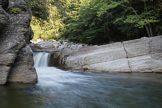 Bristol Falls, Vermont by Morgain Bailey