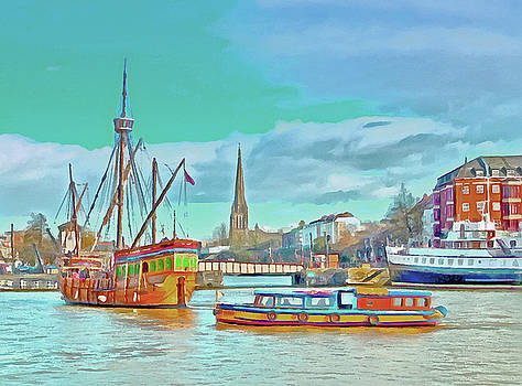 Bristol Harbour by Bishopston Fine Art