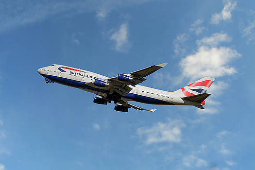 British Airways Boeing 747-400 by Nichola Denny