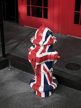 British Fire Hydrant by Rae Tucker